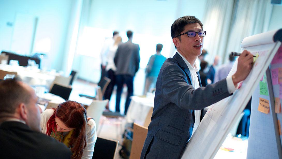 Enterpreneurs attracting investors